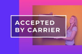Accepted by carrier перевод