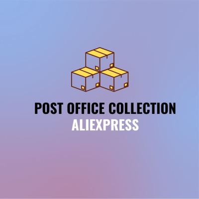 Post office collection aliexpress