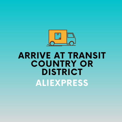 Arrive at transit country or district