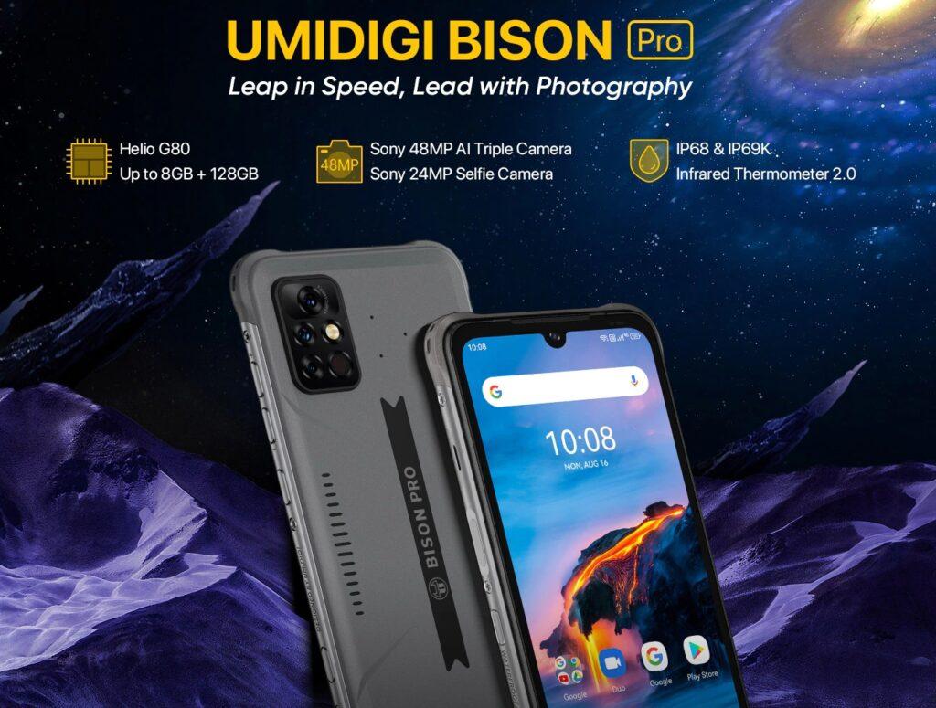 смартфон UMIDIGI BISON Pro
